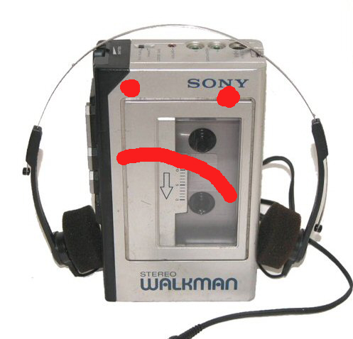 old school walkman